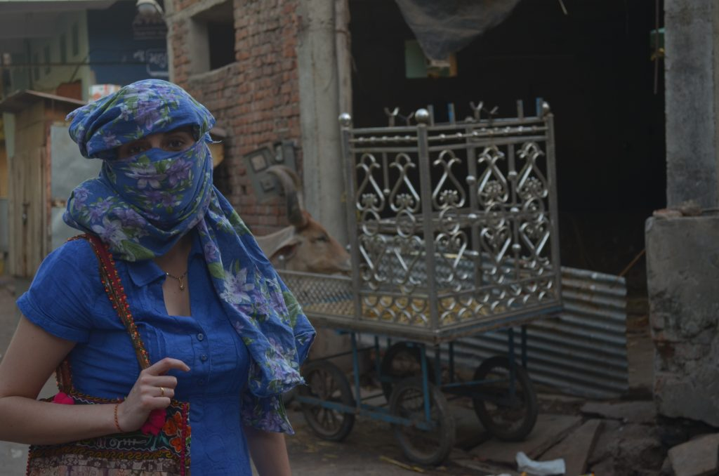 viajando sola a India